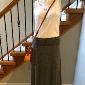 Studio M Maxi Skirt Grey Blend Size L